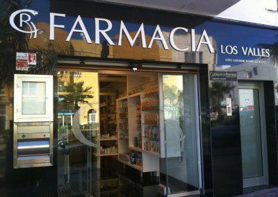 Farmacia en La Cuesta